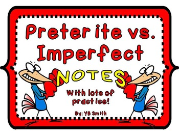 Spanish preterite and imperfect difference powerpoint