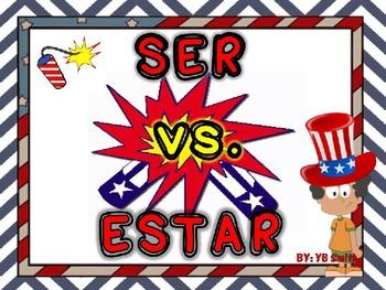 Spanish ser vs. estar powerpoint
