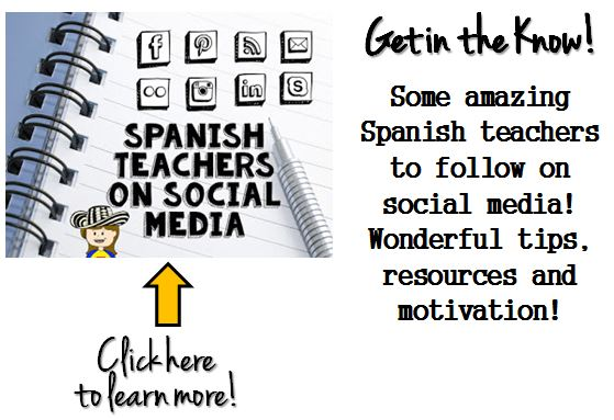 spanish social media, spanish teachers, spanish resources