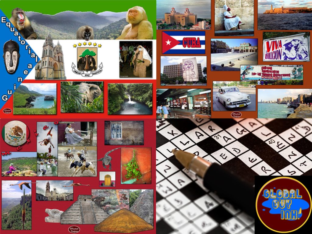 Spanish, Puzzle, Crossword, Posters