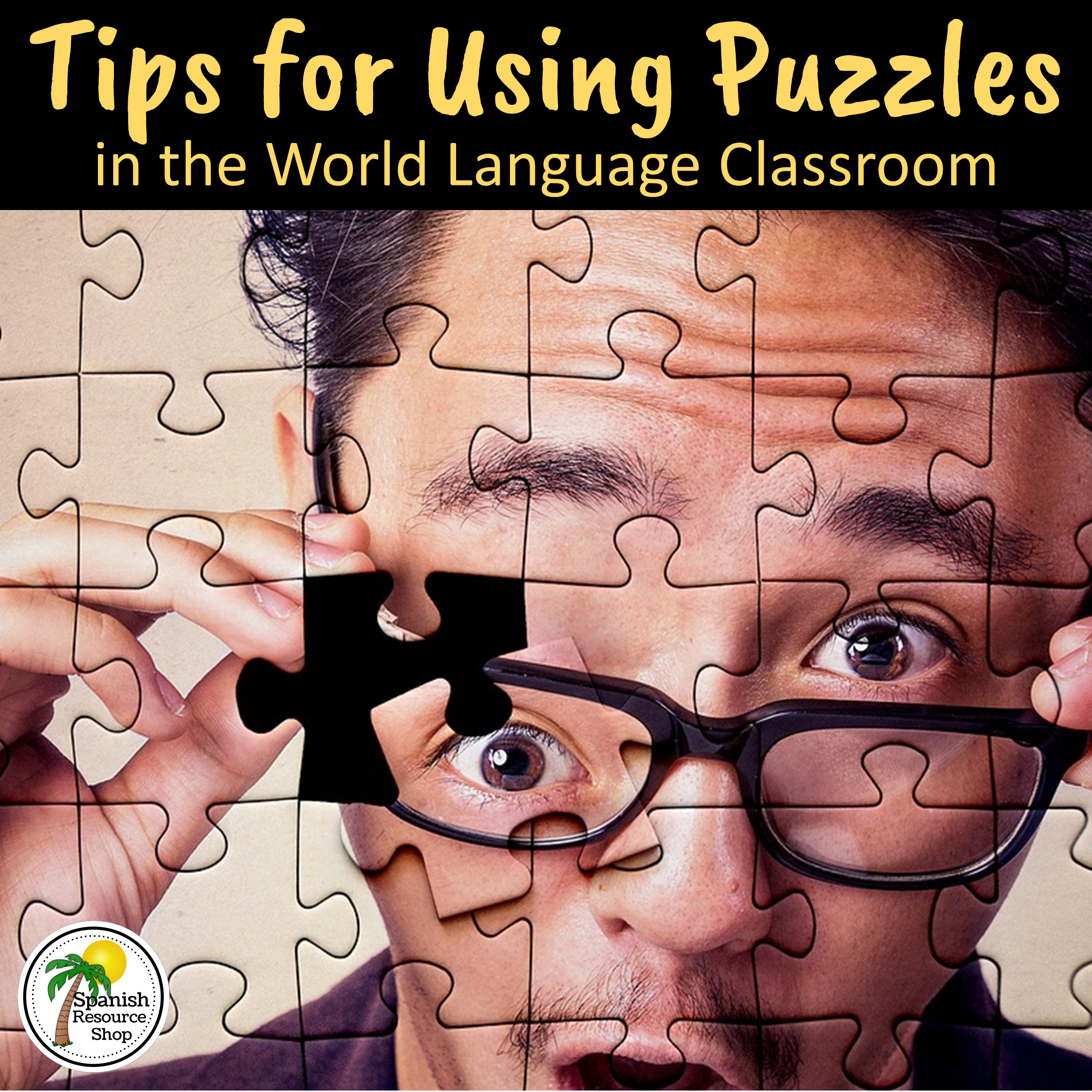 Tips for using puzzles in the world language classroom spanish language teaching puzzles should be used wisely they should motivate and challenge students and not be used simply as time fillers robcynllc Choice Image